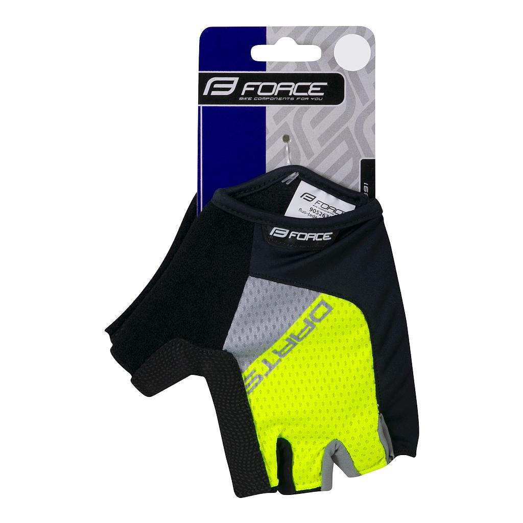 FORCE F DARTS GEL MITTS S,FLUO-GREY