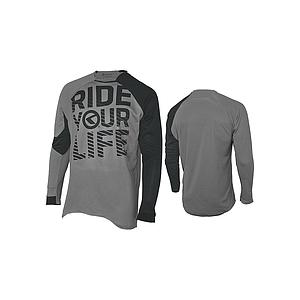 **KELLYS ENDURO RIDE YOUR LIFE JERSEY GREY L