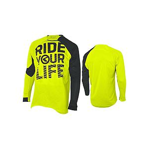 **KELLYS ENDURO RIDE YOUR LIFE JERSEY LIME M