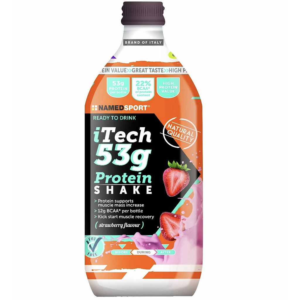 **NAMEDSPORT STRAWBERRY itech PROTEIN DRINK 500ML