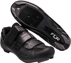 **FLR VELCRO ROAD SHOE BLACK S43