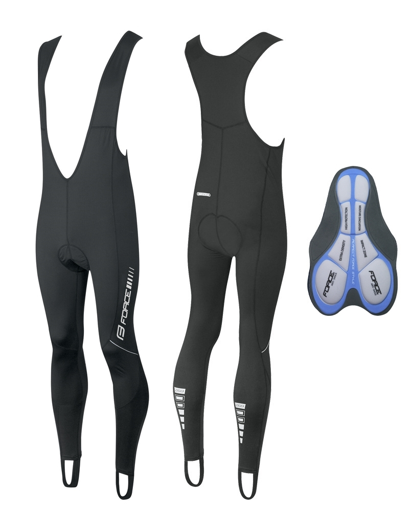 **FORCE Z68 BIBTIGHTS BLACK XXL