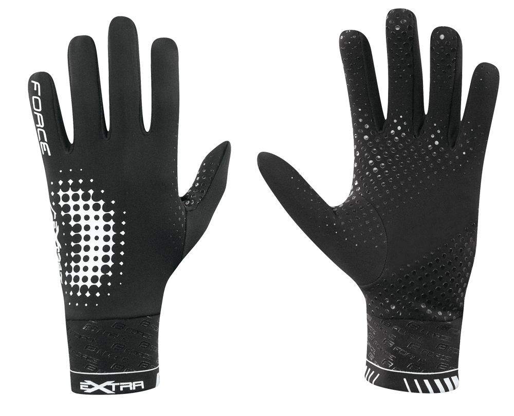 **FORCE EXTRA GLOVES BLACK M