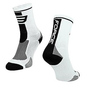 **FORCE LONG PLUS SOCKS BLACK S/M