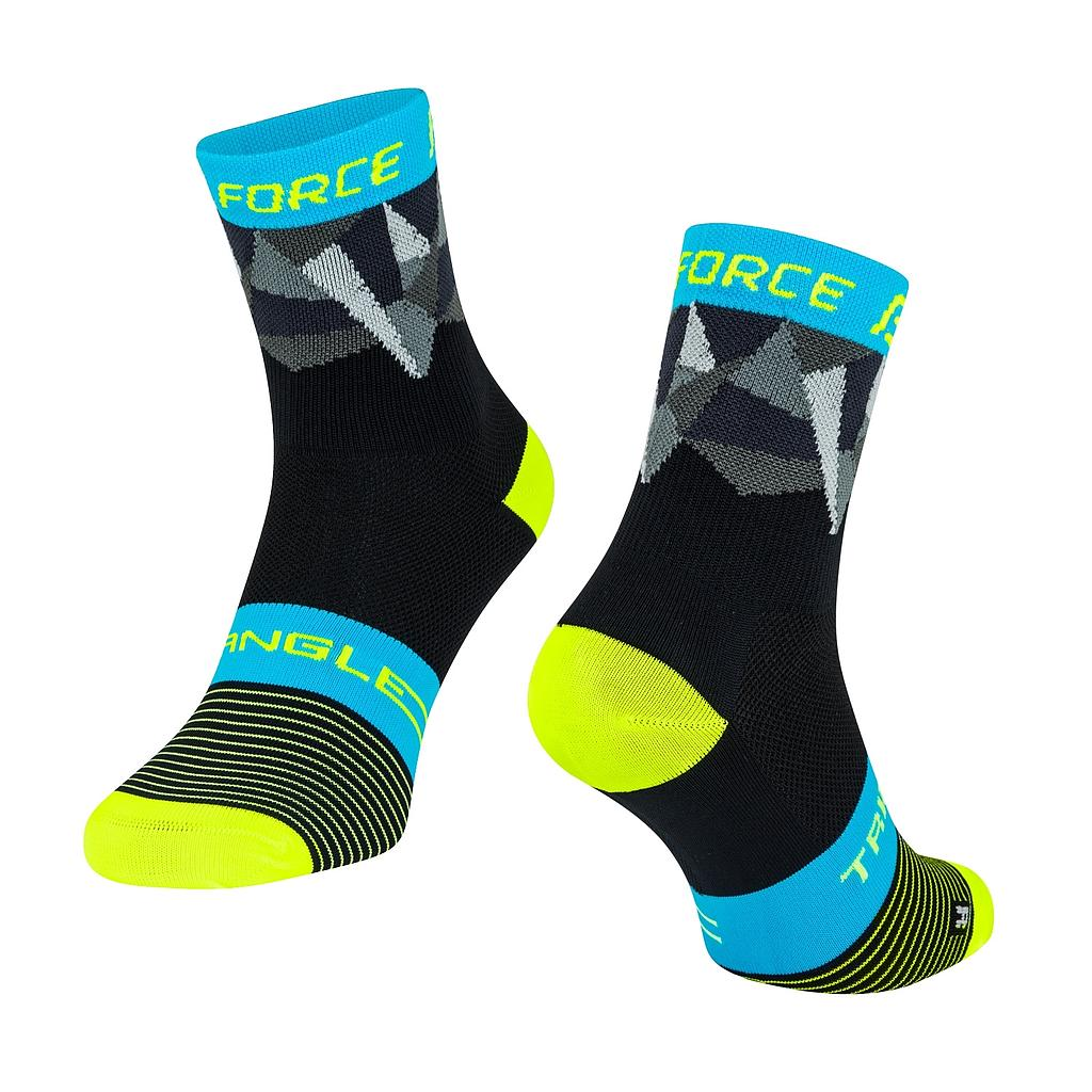 **FORCE TRIANGLE SOCKS MULTICOLOUR L/XL