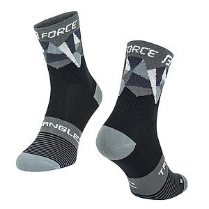 **FORCE TRIANGLE SOCKS BLACK S/M