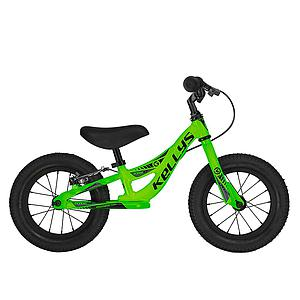 "**KELLYS KITE 12 RACE BALANCE BIKE NEON GREEN 12"" (WITH REAR BRAKE)"