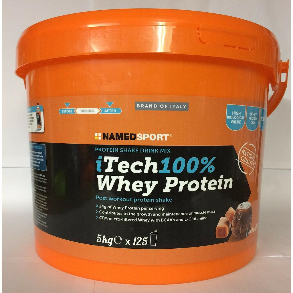 **NAMEDSPORT DOUBLE CHOCOLATE itech 100% WHEY PROTEIN 5KG