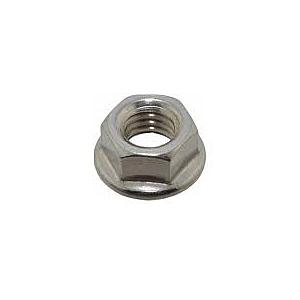 AXLE NUT CHROME