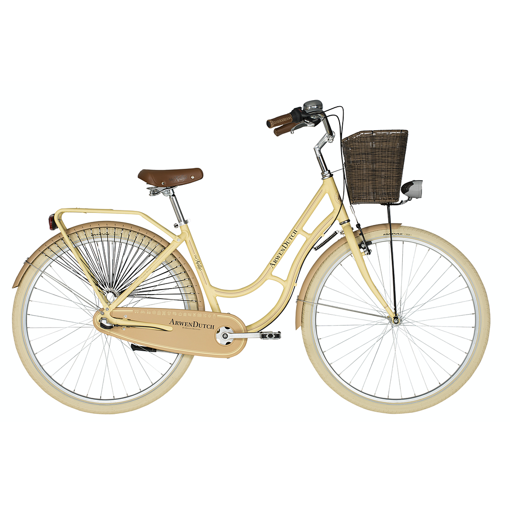 **KELLYS ARWEN DUTCH BIKE BEIGE (460MM) 2020