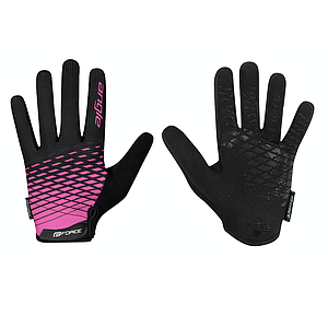 **FORCE ANGLE MTB SUMMER GLOVES X/LARGE PINK/BLACK