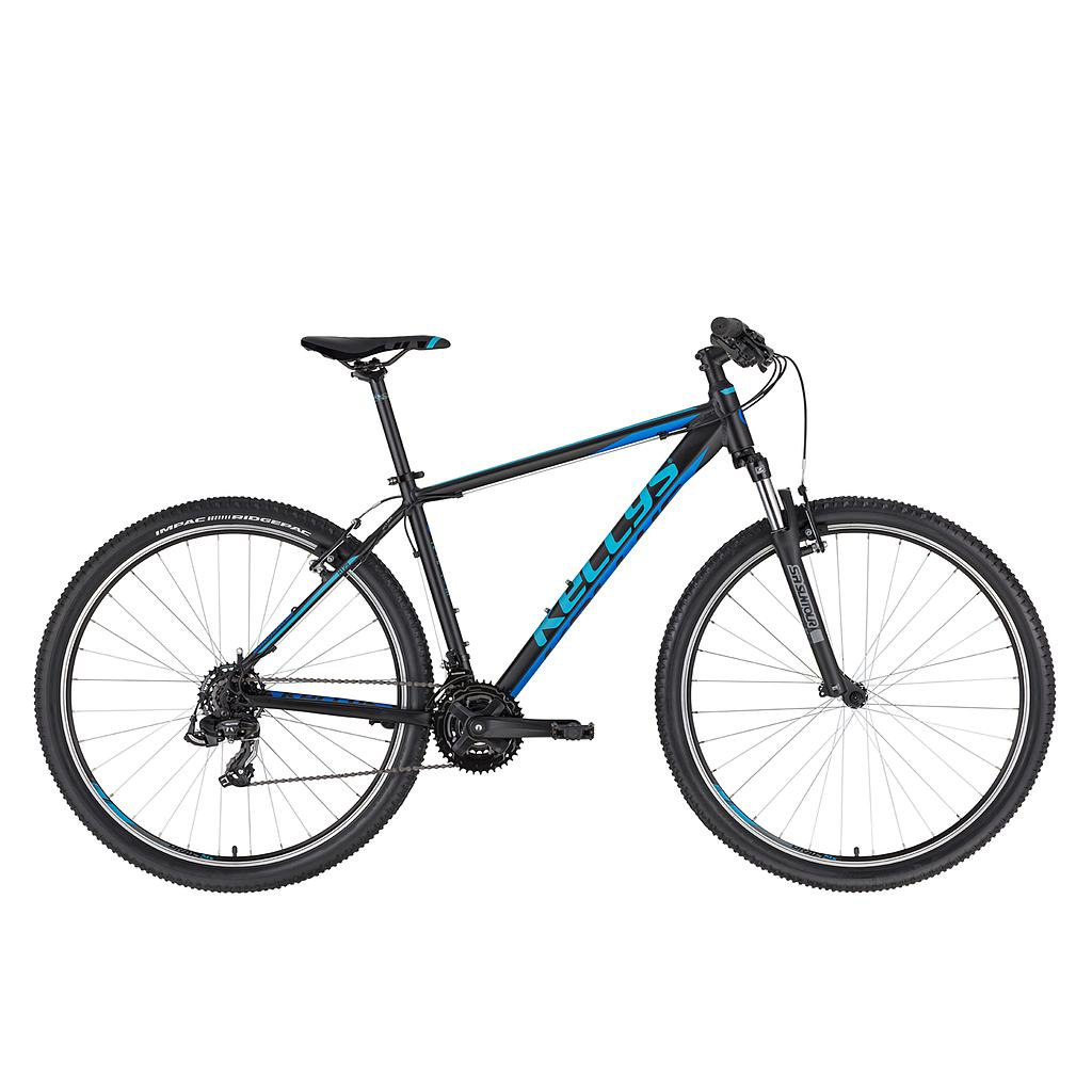 "**KELLYS MADMAN 10 XS MOUNTAIN BIKE 26"" BLACK/BLUE"