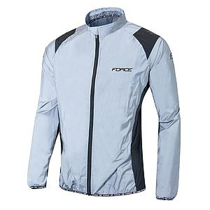 ** FORCE REFLECTIVE JACKET LIGHT GREY XX/L