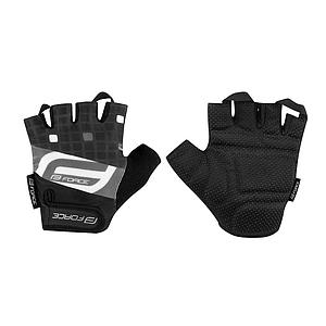 FORCE SQUARE MITTS BLACK  LARGE