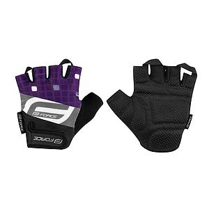 FORCE SQUARE MITTS PURPLE X/LARGE
