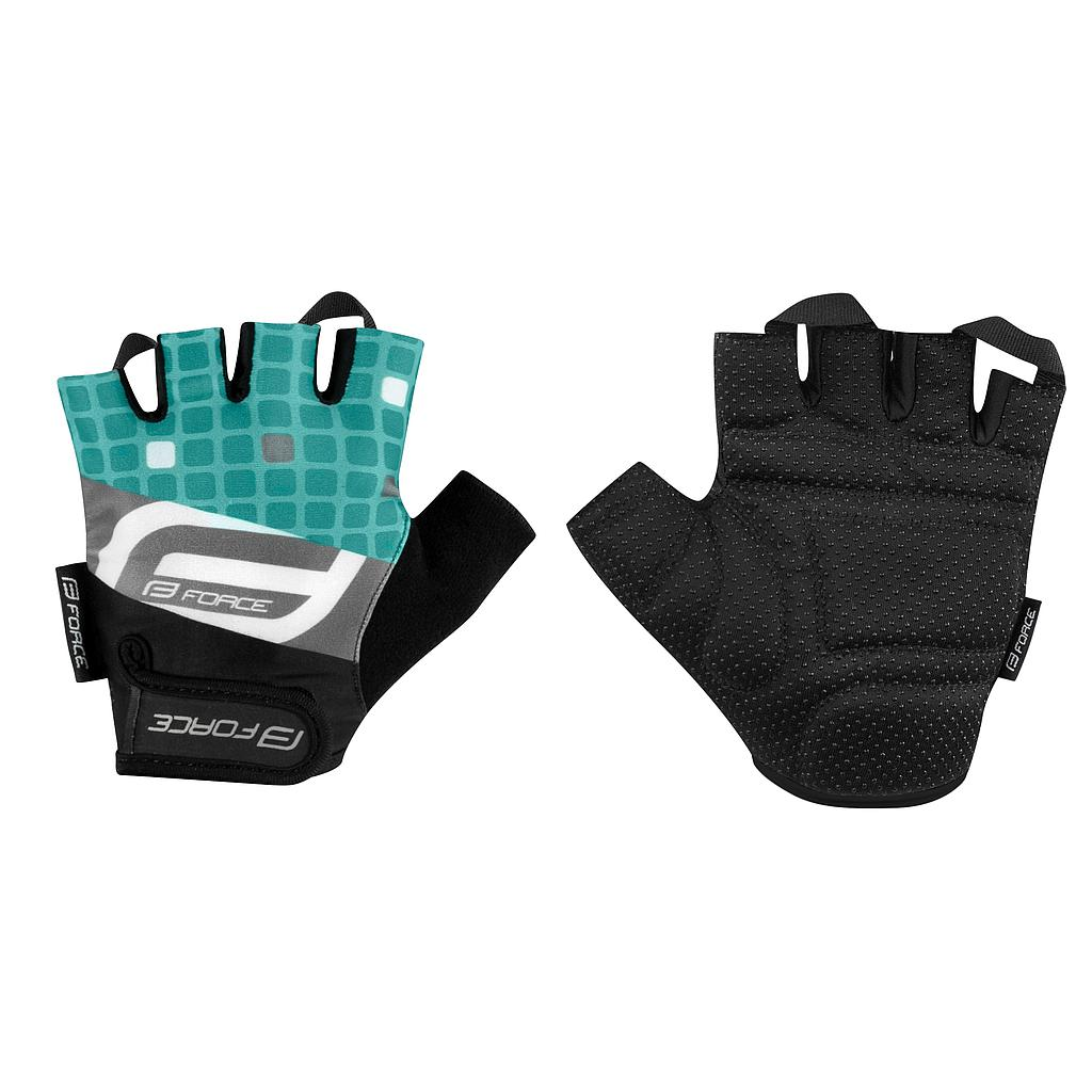 FORCE SQUARE MITTS TURQUOISE SMALL