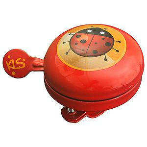 KLS BY KELLYS BELL 60 KIDS BICYCLE BELL RED