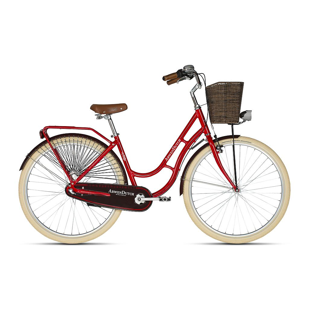 **KELLYS ARWEN DUTCH BIKE RED (460MM) 2020