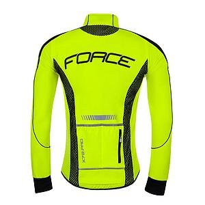 JACKET FORCE X72 PRO16 SOFTSHELL MAN,FLUO-BLACK XL