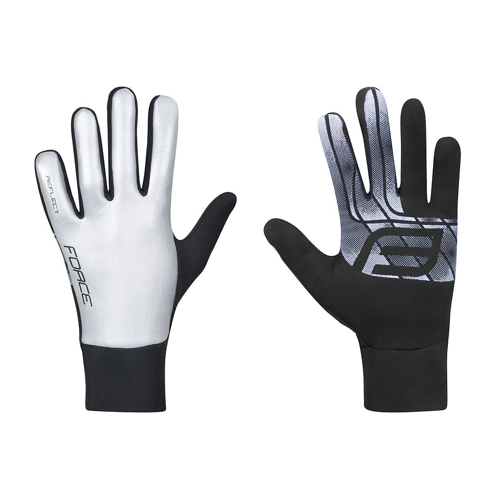 **FORCE REFLECT GLOVES, REFLECTIVE LARGE